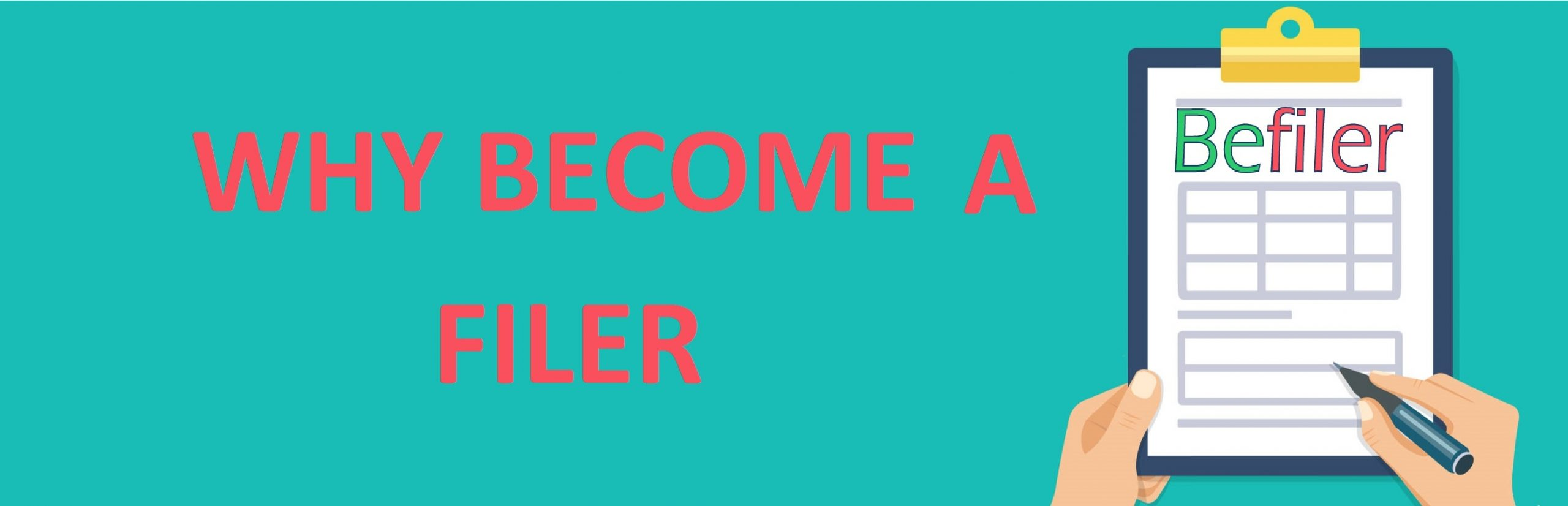 Why You Should Become A Filer